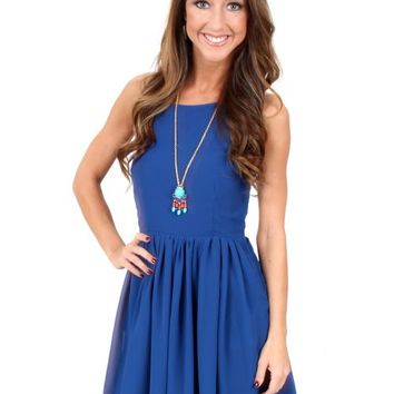 Meant To Be Royal Blue Dress | Monday Dress Boutique