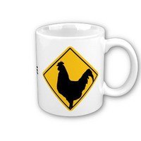 Warning; Cocky! Mug from Zazzle.com
