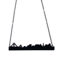 San Francisco Skyline Necklace