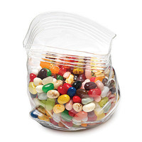 UNZIPPED GLASS ZIPPER BAG | Glass Bag, Vase, Candy Bowl | UncommonGoods