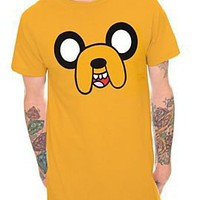 Adventure Time Jake Face T-Shirt - 123679