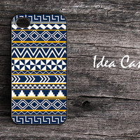 iphone case for iphone 4 , iphone 4s  - Geometric Modern Pattern iPhone Hard Case
