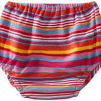 Zutano Baby-girls Infant Multi Stripe Diaper Cover $12.50