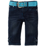 Pink Angel Girls 2-6X Denim Bow Skimmer Pant $19.20