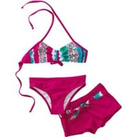 Sweet Lola Girls 2-6x Squiggly Pop 3 Piece Swimsuit $55.00