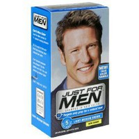 Just for Men Shampoo-In Hair Color, Light-Medium Brown, H-30, 1 Application, (Pack of 3) - Packaging...