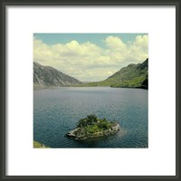 A Mountain Lake Framed Print By Alexandra Cook