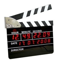 Film Action Clock