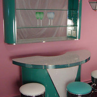 Freestanding Roberta's Bar : Retro Bar, Home Bar, Bar Furniture