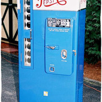 VMC 81 Restored Vintage Pepsi Machine