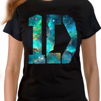 ONE DIRECTION T-Shirt Out oF This World 1D GALAXY Design Adult & Youth Sizes