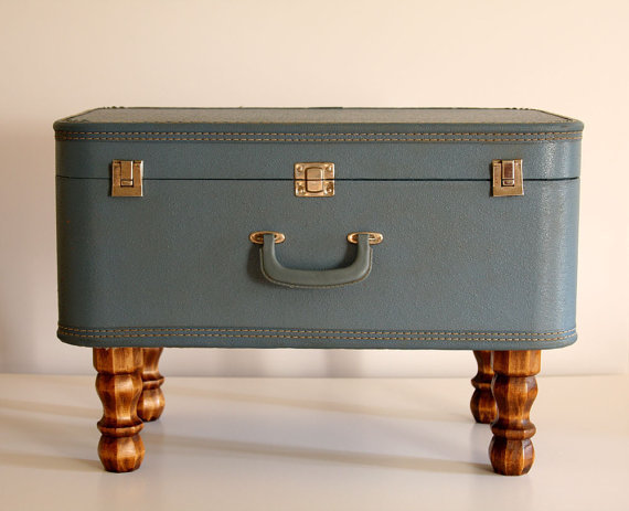 Vintage Suitcase Trunk Coffee Table From Oldbarntreasures On