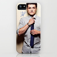 Josh Hutcherson Signature iPhone Case by Toni Miller | Society6