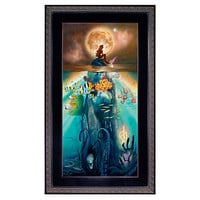 Disney Framed Limited-Edition ''Fathoms Below'' The Little Mermaid Giclée | Disney Store