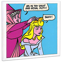 Limited Edition Disney Fine Art Pop! ''Suck It Up'' Sleeping Beauty Giclée on Canvas | Disney Store