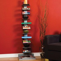 "Wildon Home ® Mosby 55"" H Spine Book Tower"