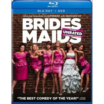 Bridesmaids (Blu-ray/DVD) (Digital Copy) (with $7.50 Fandango Cash)