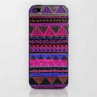 Ocean T Neon iPhone & iPod Skin by Lisa Argyropoulos | Society6