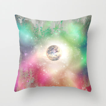 How to paint a dream Throw Pillow by SensualPatterns