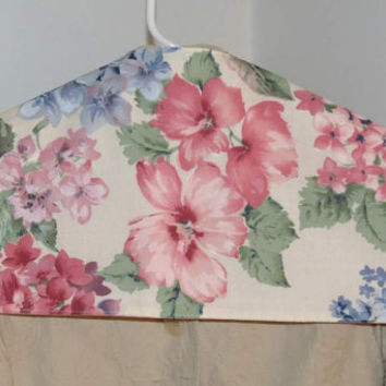 Reversible Garment Protector, Hanger Cover with Hidden Pocket, Closet Travel Safe, Vintage Fabrics