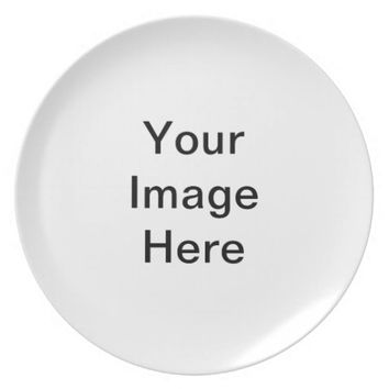 Personalized Dinner Party Plate