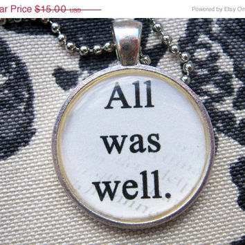 On Sale All was well Necklace