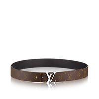 Products by Louis Vuitton: LV Initials Reversible Monogram Belt