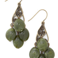 Olive for Today Earrings | Mod Retro Vintage Earrings | ModCloth.com