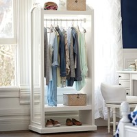 Lilac Wardrobe Storage Display
