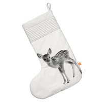 Oversize Christmas Stocking, Deer - SALE