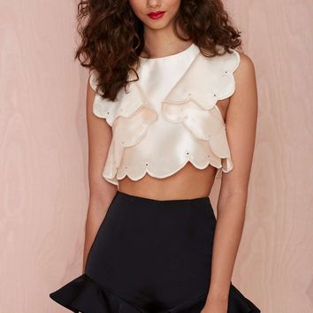 Alice McCall Would You Rather Crop Top