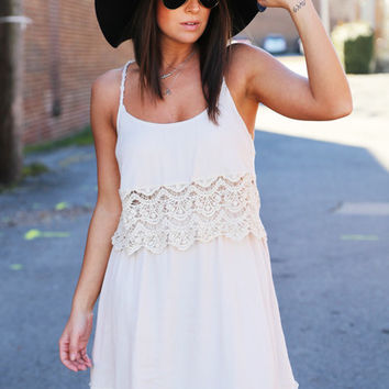 Lace Up For Spring {Beige}