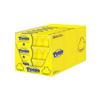 PEEPS & Company Online Candy Store: Shop Now : 5 CT. YELLOW PEEPS® CHICKS IN A 24 COUNT CASE