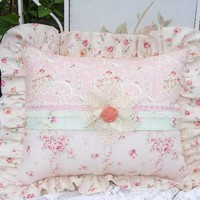 Yummy Shabby Chic Cottage Sweet Pink Rose by DREAMCOTTAGEBOUTIQUE
