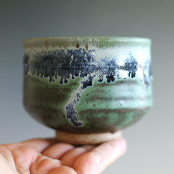Matcha Chawan, Tea Bowl, handmade ceramic tea cup, ceramic and pottery