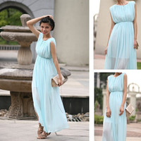 2012 spring and summer mint color fantasy short lined dress multicolor - 15538361327