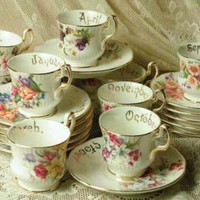 Victorian trading Co. - www.victoriantradingco.com - Teacups of the Month