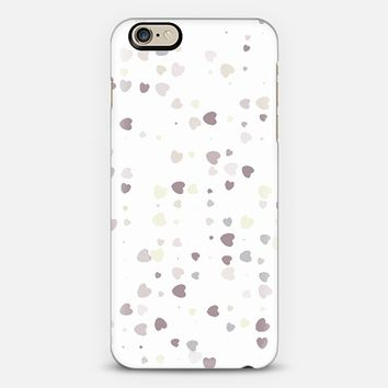 Faded Hearts 2802 iPhone 6 case by Christy Leigh | Casetify