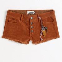Roxy Button Fly Cord Shorts at PacSun.com