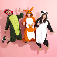 $74 Warm Fuzzy Kigurumi Onesuit | One Piece Animal Costume | fredflare.com