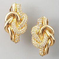 Love Knot Post Earrings