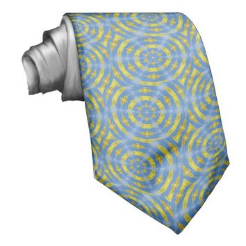 Blue and Gold Tie