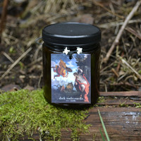 Dark Andromeda Soy Candle . 9 Ounces