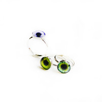 10mm Taxidermy Eye Ring