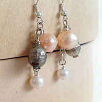 Trina Pearl Earrings