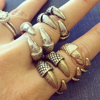 Claw Ring from Papers & Peonies
