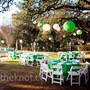 Real Weddings - An Outdoor Wedding in Austin, TX - Green and White Decor