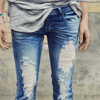Sweet & Torn Jeans