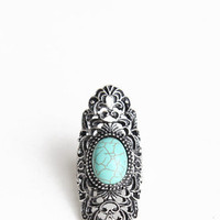 Keep Calm Turquoise Ring - &amp;#36;13.00 : ThreadSence.com, Your Spot For Indie Clothing &amp; Indie Urban Culture