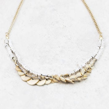 Seraphina Personalised Gold And Silver Boho Necklace